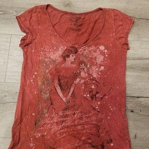 Cecico Tops - Printed t shirt